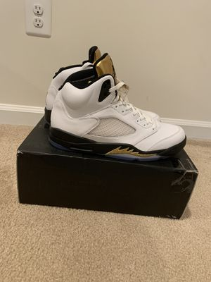 Jordan 5 Olympic Gold Size 13 for Sale in Jessup, MD