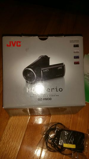 JVC HD everio camera for Sale in Germantown, MD
