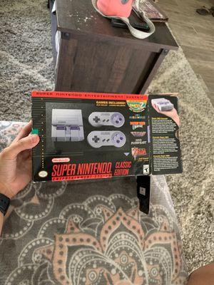 Super Nintendo mini classic for Sale in Salida, CA
