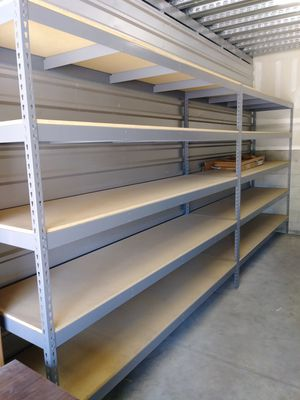 Heavy Duty 5 Shelf Metal Shelving for Sale in San Luis Obispo, CA