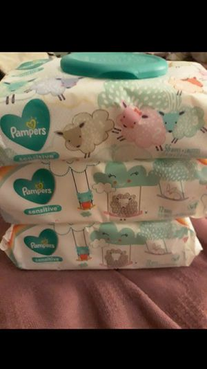 PAMPERS SENSITIVE WIPES ~~♡♡NEW♡♡~~ for Sale in Fontana, CA
