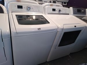 🌈Maytag large capacity washer and dryer electric for Sale in Houston, TX