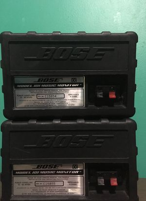 Bose Model 101 Music Monitor Speaker (pair) for Sale in Sterling, VA