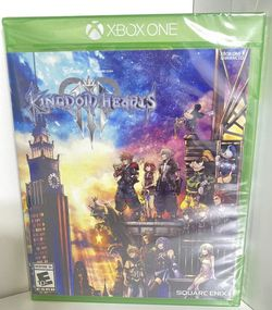 Kingdom Hearts 3 III New Sealed XBOX One for Sale in Queens,  NY