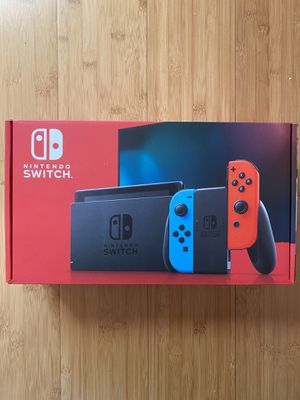 Nintendo Switch V2 Red/Blue Joy Cons BRAND NEW! for Sale in Santee, CA
