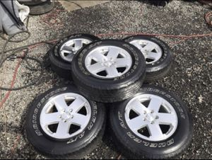 Jeep stock rims for Sale in Hyattsville, MD