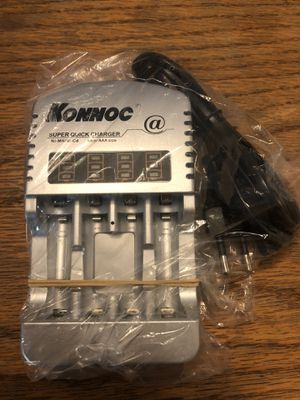 Brand New Super Quick Battery Charger Ni-Mh / Ni- Cd Only Needs American Adapter for Sale in Phelan, CA