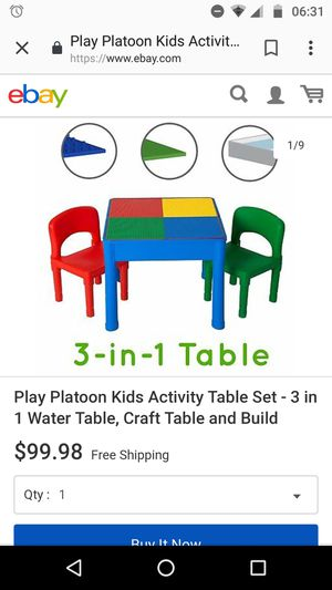 Brand New kids table and chairs for Sale in Falls Church, VA