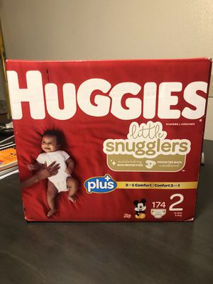 174 count Huggies diapers for Sale in San Diego, CA