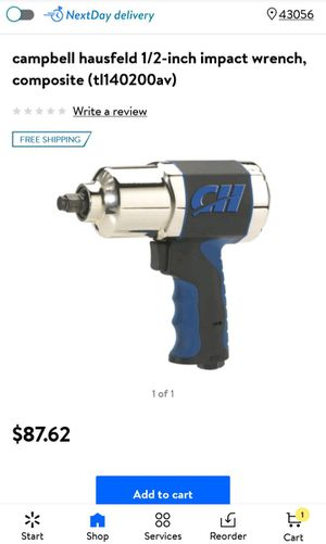 Campbell Hausfeld 1/2 inch impact wrench for Sale in Heath, OH