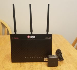 Tmobile AC-1900 flashed to Asus RT-AC68P wireless dual band router. Used. for Sale in Hollywood, FL