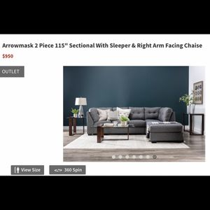 Sectional Sleeper Sofa for Sale in Los Angeles, CA