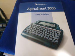 AlphaSmart 3000 Keyboard Computer for Sale in Hesperia, CA
