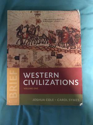 Western Civilizations text book for Sale in Delaware, OH