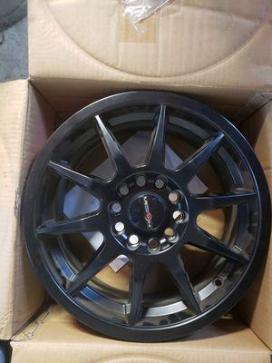 "15"" NS wheels Tuner 1203 Black rims. for Sale in Philadelphia, PA"