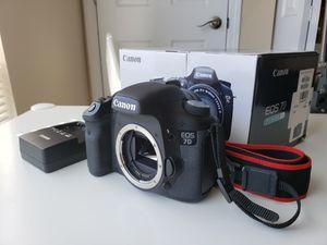 Canon 7d body only 18 Megapixel for Sale in Herndon, VA