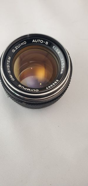 Olympus 50mm 1.4 for Sale in Carson, CA