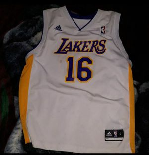 Pau gasol adidas Jersey for Sale in Long Beach, CA