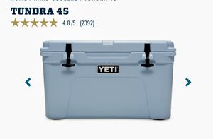 YETI Tundra 45 cooler for Sale in Edgewater, NJ