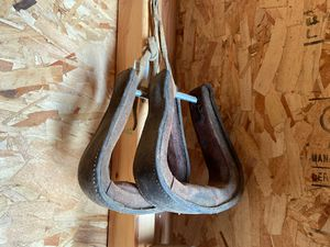 Leather stirrups for Sale in Benton City, WA