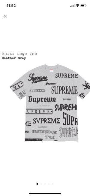 Supreme multi logo t-shirt for Sale in Winston-Salem, NC