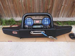 ARB Bumper w/ Warn 9.5 ti Winch for Sale in Seminole, FL