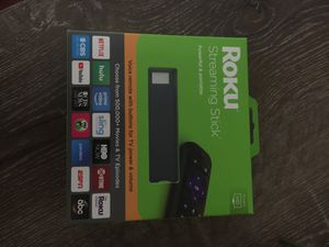 New in box, never opened Roku streaming stick for Sale in Seattle, WA