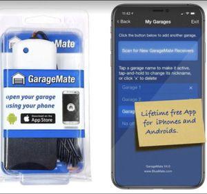 Smart garage door opener with app for Sale in Garden Grove, CA