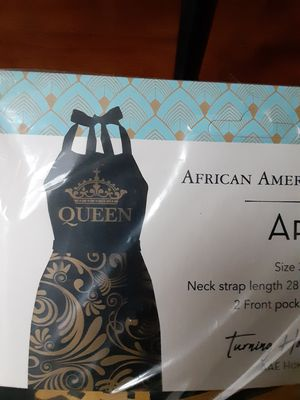 Queen Apron, Oven Mitt, and Magnetic Notepad Sets for Sale in Lawrence, IN
