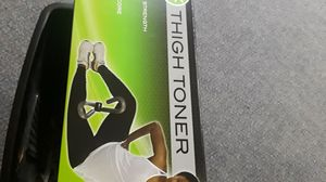 Exercise equipment : Thigh toner, resistance band and vinyl solar suit If ordered before this Chirstmas a bonus will be included! for Sale in Florissant, MO