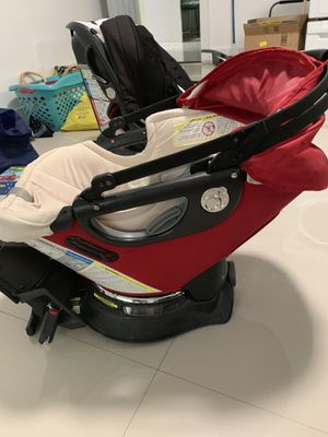 Orbit O2 jogging stroller (car seat+stroller frame+toddler seat) for Sale in Miami, FL