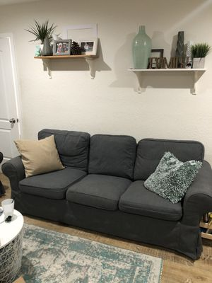IKEA ektorp sofa / couch / grey / very good condition for Sale in Escondido, CA