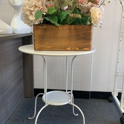 White IKEA End Table for Sale in San Dimas,  CA