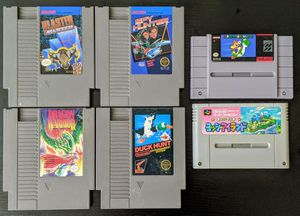 NES and SNES game lot for Sale in Tempe, AZ