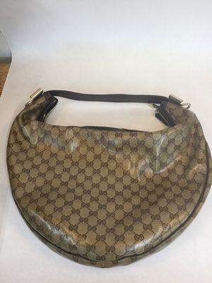 Gucci handbag monogram hobo bag for Sale in Dallas, TX