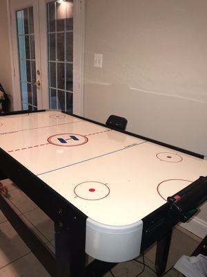 Barely used Harvard Air Hockey Table for Sale in Sterling, VA