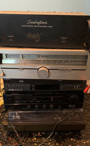Full stereo system , moset amplifier , pre Amplifier , stereo tuner ,Etc for Sale in Floral Park, NY