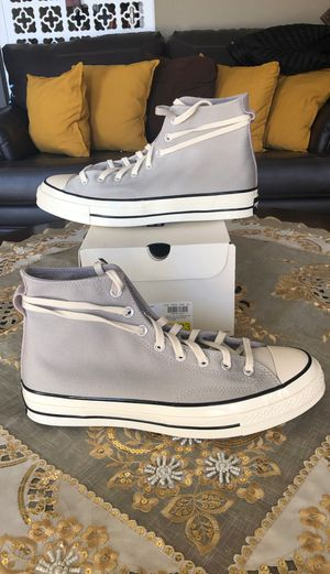Fear of God x Converse High Top Grey Size 10.5 for Sale in San Diego, CA