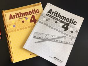 Abeka 4th Grade Arithmetic Parent Kit for Sale for sale  The Colony, TX
