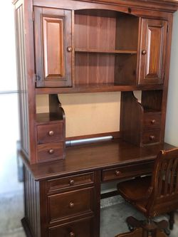 Bedroom Set: Desk, Chair, Chest, Nightstand WOOD for Sale in Los Angeles,  CA