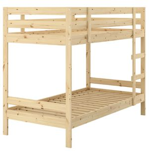 Twin size bunk bed for Sale in Falls Church, VA