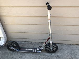 Razor A6 scooter in silver for Sale in Norcross, GA