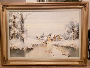 Willi bauer oil painting for Sale in Peoria, AZ