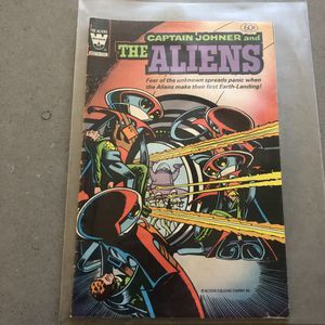 Whitman comics captain Joyner and the aliens 1967 comic book for Sale in Seattle, WA