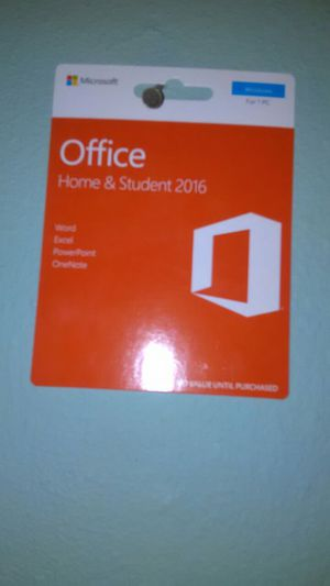 Brand new office and home student 2016 for Sale in Orlando, FL