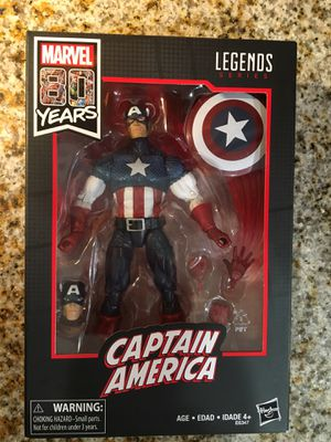 Marvel Legends 80th Captain America - Sealed for Sale in Round Rock, TX
