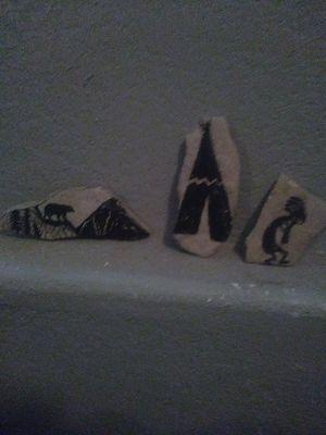 Handpainted garden stones for Sale in Pueblo, CO