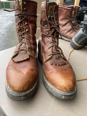 Men's Justin's work boots sz 12EE for Sale in Kent, WA