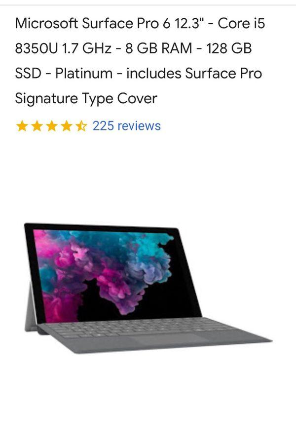 Microsoft Surface Pro 6 UNOPENED