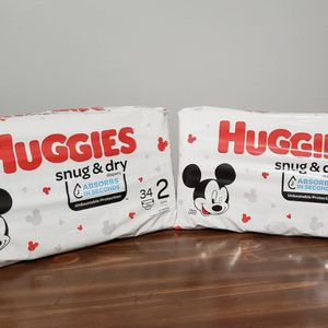 Huggies Size 2 Bundle for Sale in Brooklyn, NY